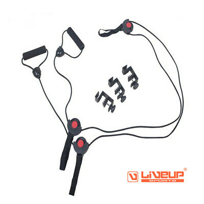 Liveup Sports Resistance Band Door Gym Exercise