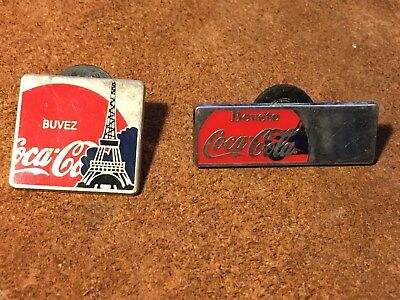 French France Paris Eiffel Tower Limited Edition of 100 Coca-Cola Lapel pins
