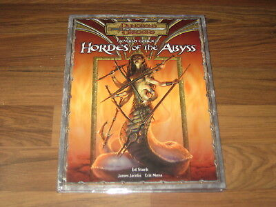 D&D 3.0 3.5 Fiendish Codex I Hordes of the Abyss Hardcover Accessory WotC VG