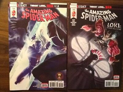 Amazing Spider-Man #794 & 795 Nm Unread 1St Print Red Goblin  Marvel Comics