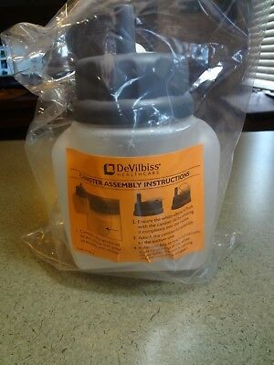 DeVilbiss Vacu-Aide Reusable Collection Canister/bottle Ref # 7310P-157