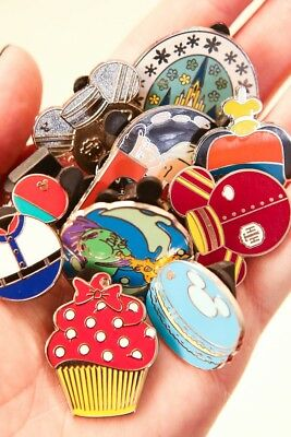 Disney Pin Trading Lot of 25 Assorted -NEW - No Doubles - Tradeable U.S. Shipper