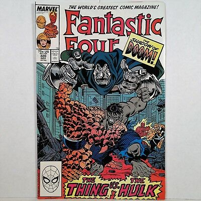 Fantastic Four Vol. 1, No. 320 - Marvel Comics Group - Nov. 1988 No Reserve!