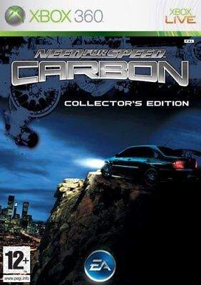NEED FOR SPEED CARBON  Microsoft Xbox 360 Game PAL + Booklet