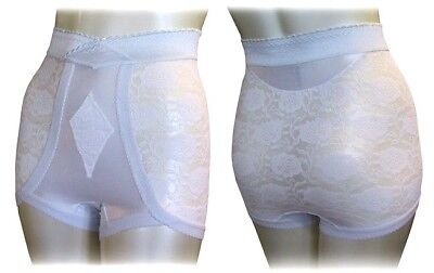 Lace Girdle Vintage Retro Style Shaper High Waist New 54 56 Waist Plus Size
