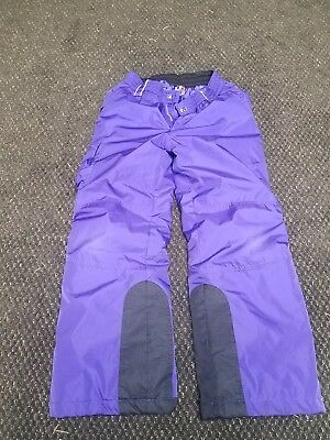 Gerry Snow Pants Girls Size S-8 Purple