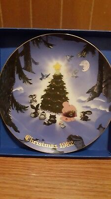Ziggy 1982 Christmas plate, Designers Collection