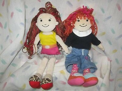 """Groovy Girls - Two 13"""" Dolls with Outfits"""