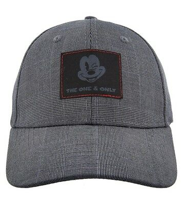 Disney Parks Plaid Style Mickey Mouse The One And Only Baseball Cap Hat