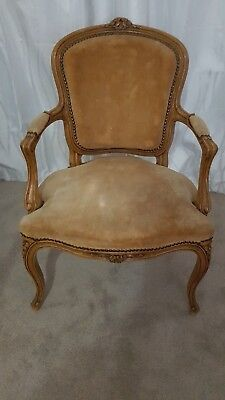 French Provincial Armchairs (2) Early 20th Century