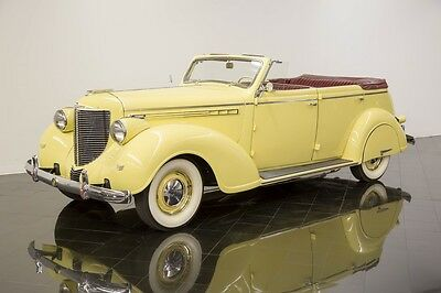 1938 Chrysler Imperial Eight Convertible Sedan 1938 Chrysler Imperial Eight Convertible Sedan
