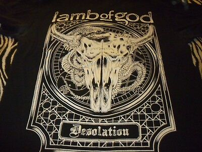Lamb Of God Shirt ( Used Size M ) Used Condition!!!