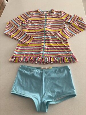 Collette Dinnigan (Wild Hearts) Girls Bathers Size 14 - Long Sleeve Rash