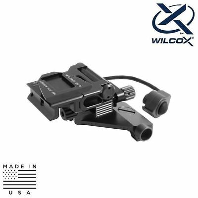 Wilcox 61313G01 NVG Helmet/Weapon Mount Interface Shoe - AN/PVS-14
