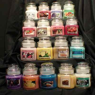 LOT OF 6, 3oz Scented Candle, Soy Wax, Jar W/lid,PICK YOUR SCENTS!