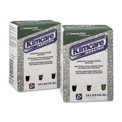 Kimberly-Clark 91757 KIMCARE INDUSTRIE SuperDuty Hand Cleanser w/Grit, Herbal,