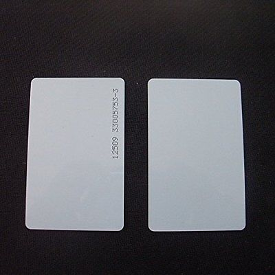 200pcs Keycards Proximity Prox Card Works With Prox 1326 1386 26-Bit H10301