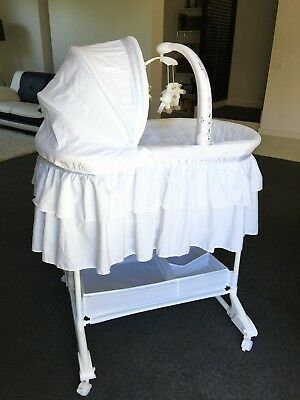 bassinet Never used Baby bed White beautiful