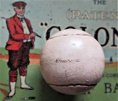 Authentically Hand Crafted Featherie Golf Ball- Produced In The Old Way