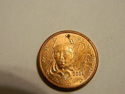 2006 France 1 Euro Cent ---- Lot #2,142
