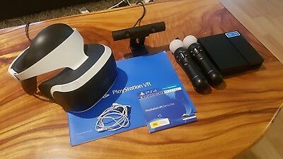 Playstation VR - PSVR + Sony Eye Camera + 2 x Move Controllers - Great condition