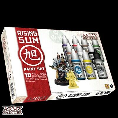 The Rising Sun Paint Set The Army Painter Brand New AP-WP8030