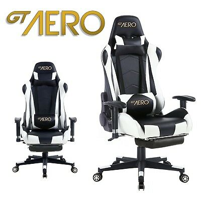 Fabulous Gt Aero Reclining Racing Office Gaming Desk Chair Swivel Machost Co Dining Chair Design Ideas Machostcouk