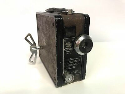 Vintage Coronet Camera 9-5 M/M Cine Model B Made In England