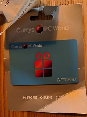 currys / pcworld voucher gift card £669