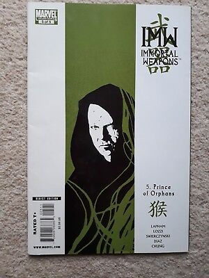 Marvel's IMW Immortal Weapons comic book