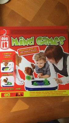 Dogit 3-in-1 Mind Games Interactive Smart Toy dog toy dog game