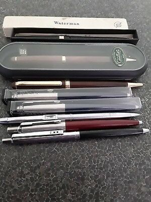 Fountain pens, biro and 2 propelling pencils. Mixture of brands Parker etc.