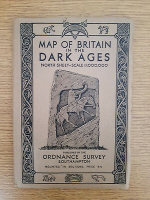Map Of Britain In The Dark Ages