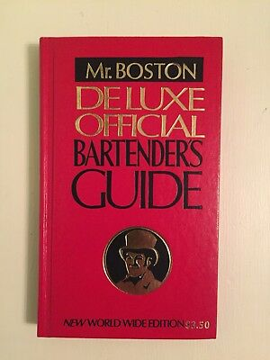 Mr. Boston Deluxe Official Bartenders Guide 60st Edition 1979 - Excellent Cond!