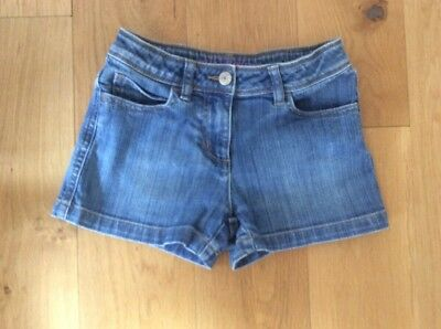 Mini Boden Girls Denim Shorts Age 8