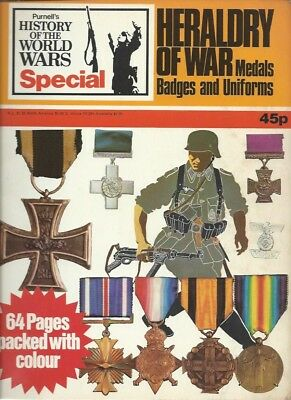 Purnell-History of the World Wars-Special -1973- Heraldry of War