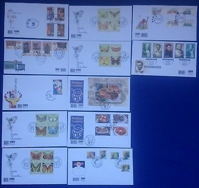 2002 Malta FDC FIRST DAY COVERS COMPLETE YEAR SG1243/1288 CV£50+