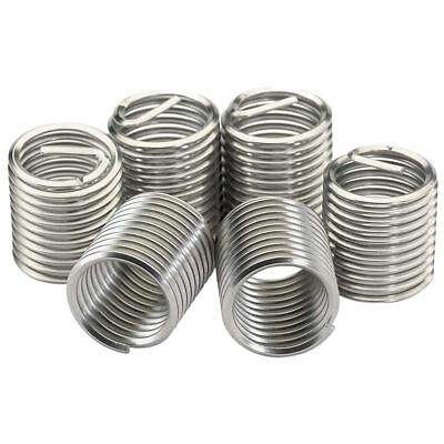 Tool Hub 9904 Spare Helicoil Type Thread Repair Insert M8 x 1.0mm 5 Pieces
