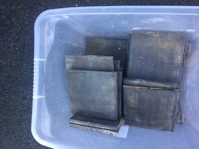 "6"" Blue Grey Quarry tiles approx 20/22"