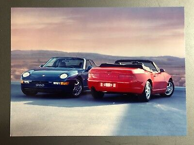 1992 - 1995 Porsche 968 Coupe & Cabriolet Factory Issued Press Photo, Foto RARE!