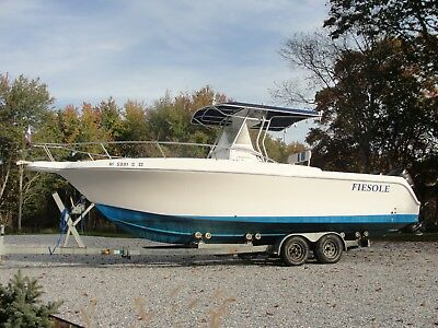 2001 Pro-line 27 Sport with twin 225 Mercury Optimax's - Runs great - Low hours