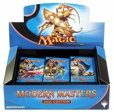 Modern Masters 2015 Sealed Booster Box Come Da Foto Nuovo Sigillato