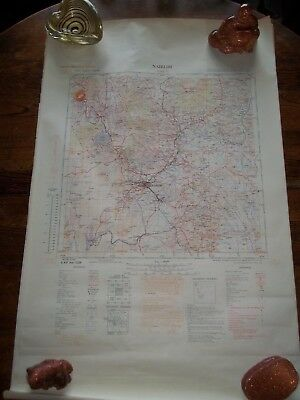 20 Vintage 1940S Highly Detailed Maps Of East Africa 1: 500 000 Scale