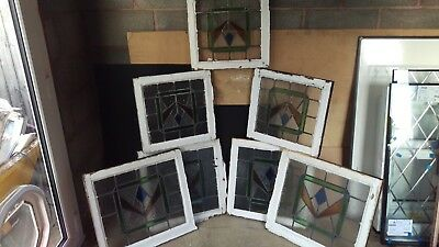 stained glass art fanlights 7 in total