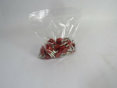 Phoenix Contact FBS-2-10 Terminal Block Jumper 2-Pin Lot of 75 RED  USED