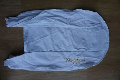 Sleepyhead Deluxe+ Cover, Pristine White (0-8months - very little used)