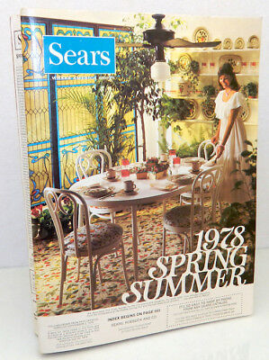 SEARS 1978 Spring/Summer Original Vintage Catalog