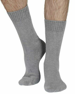 Blair-Rock men's thick bamboo boot sock in grey | By Braintree