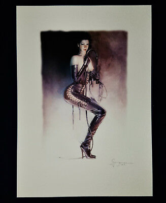 Sorayama art Fantasy Erotik Pin-Up Fine art Litho Cotton Paper Drawig Signiet