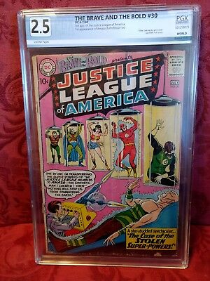 THE BRAVE AND THE BOLD #30 (Jul 1960) 3rd APP. JUSTICE LEAGUE!! PGX 2.5! $139.99